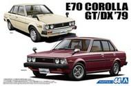 Aoshima  1/24 1979 Toyota E70 Corolla GT/DX 4-Door Car AOS53454