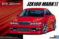 Aoshima  1/24 1998 Toyota JZX100 Mark II Tourer V 4-Door Car AOS53577