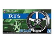 "Aoshima  1/24 Trafficstar RTS 20"" Tire & Wheel Set (4) AOS53706"
