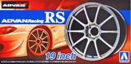 "Aoshima  1/24 Advan Racing RS 19"" Tire & Wheel Set (4) AOS53782"