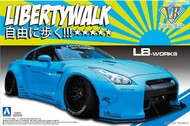 Aoshima  1/24 Nissan LB-Works R35 GT-R Ver1 Car - Pre-Order Item AOS54024
