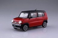Aoshima  1/35 1/32 Suzuki Hustler Car (Snap Molded in Red Pearl) AOS54147