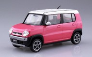Aoshima  1/32 Suzuki Hustler Car (Snap Molded in Pink Metallic) AOS54154