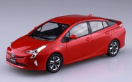Aoshima  1/35 1/32 Toyota Prius Car (Snap Molded in Red) AOS54178
