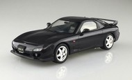 Aoshima  1/24 1999 Mazda FD3S RX7 2-Door Car (Pre-Painted Black) (Ltd Edition) AOS5511