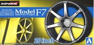 Aoshima  1/24 AVS Model F7 20� Tire & Wheel Set (4) AOS55168