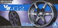 "Aoshima  1/24 Volk Racing VR.G2 20""� Tire & Wheel Set (4) AOS55175"