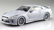 Aoshima  1/32 Nissan GT-R 2-Door Car (Snap Molded in Bright Orange) (New Tool) AOS56387
