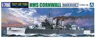 HMS Cornwall British Heavy Cruiser STD Waterline - Pre-Order Item* #AOS56745