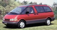 1990 Toyota Previa Minivan w/Moon Roof #AOS57537