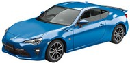 Aoshima  1/32 Toyota 86 Sports Car (Snap Molded in Blue) AOS57544