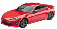 Aoshima  1/32 Toyota 86 Sports Car (Snap Molded in Red) AOS57551