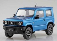 Aoshima  1/32 Suzuki Jimny Jeep (Snap Molded in Metallic Blue) AOS57780