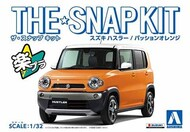 Aoshima  1/32 Suzuki Hustler Car (Snap Molded in Orange) AOS58329