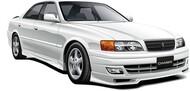 Aoshima  1/24 1998 Toyota JZX100 Chaser Tourer V 4-Door Car AOS58596