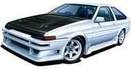 Aoshima  1/24 1985 Toyota AE86 Trueno Tuned 2-Door Car AOS58633