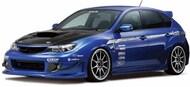 2007 Subaru GRB Impresa WRX STi 4-Door Car #AOS58756