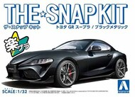 Aoshima  1/32 Toyota GR Supra Car (Snap Molded in Black Metallic) (New Tool) AOS58879