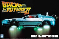 DeLorean Car Hover Type Back to the Future II w/Opening Doors & Engine Details #AOS59173