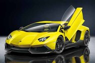 2013 Lamborghini Aventador 50th Anniversary Sports Car #AOS59821