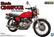 Aoshima  1/12 Honda CB400-FOUR 1974 Model Motorcycle AOS7648