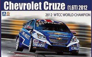 Aoshima  1/24 Chevrolet Cruze (1.6T) 2012 WTCC World Champion Race Car AOS82997