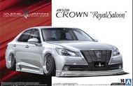 Aoshima  1/24 2012 Toyota AW210 Crown Royal Saloon 4-Door Car AOS8553