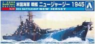 Aoshima  1/2000 USS New Jersey Battleship AOS9338