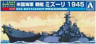 Aoshima  1/2000 USS Missouri Battleship AOS9345