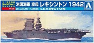 Aoshima  1/2000 1/2000 USS Lexington Aircraft Carrier AOS9369