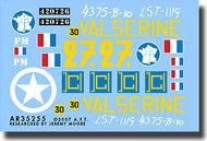 "Archer Fine Transfers  1/35 Free French M4A2 ""Valserine"" AFT35255"