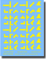 Archer Fine Transfers  1/35 US 1st Armored Division in Tunisia (Yellow) AFT35258Y