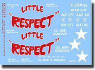 """Archer Fine Transfers  1/35 M54 Vietnam Era Gun Truck """"Little Respect"""" AFT35264"""