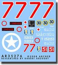 "Archer Fine Transfers  1/35 13/18 Hussars ""Comrade"" AFT35276"