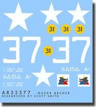 Archer Fine Transfers  1/35 US 6th A.D. M4A3E2 AFT35277