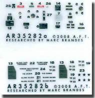 Archer Fine Transfers  1/35 Humvee Instruments & Placards AFT35282