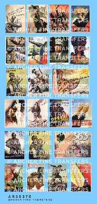 Archer Fine Transfers  1/35 Italian Propaganda Posters (23) AFT35370