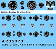 Archer Fine Transfers  1/35 MB G4 Instruments & Placards for ICM (D)<!-- _Disc_ --> AFT35373