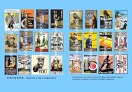Archer Fine Transfers  1/35 British WWI Propaganda Posters (24) AFT35404