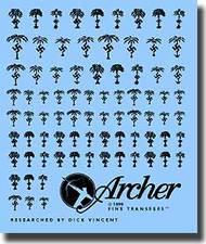 Archer Fine Transfers  1/48 Afrika Korps Insignias AFT49010B