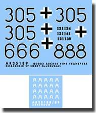 Archer Fine Transfers  1/48 HJ Panther G AFT49014