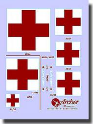 Archer Fine Transfers  1/48 US Ambulance Markings AFT49017