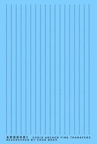 Archer Fine Transfers  N Surface Details: N Beltline Rivets (D)<!-- _Disc_ --> AFT88081