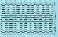 Archer Fine Transfers  O Surface Details: O 1.25&quot; Tank Car Double Row Rivets pre 1920 (D)<!-- _Disc_ --> AFT88100