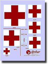 Archer Fine Transfers  1/35 US Ambulance Markings AFT35002