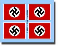 Archer Fine Transfers  1/35 German National Flag AFT35008