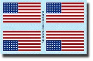 Archer Fine Transfers  1/35 US 48 Star Flag (2 Flags) AFT35009