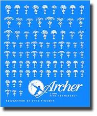 Archer Fine Transfers  1/35 Africa Korps Symbols (White) AFT35026W