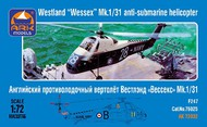 ARK Models  1/72 Westland Wessex Mk 1/31 British Anti-Submarine Helicopter AKM72032