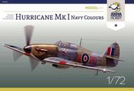 Hawker Hurricane Mk.I Royal Navy Colours Model Kit #AHY70022